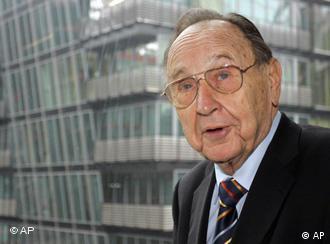 Der ehemalige deutsche Aussenminister Hans-Dietrich Genscher (AP Photo/Franka Bruns)