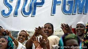 A Stop Female Genital Mutilation campaign gets underway in Somalia