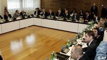 Verhandlungen über die Zukunft des Kosovo