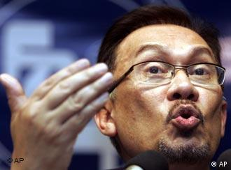 Opposition leader Anwar Ibrahim is angered by election timing