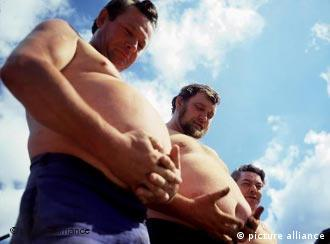 German bellies are getting bigger and bigger