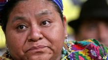 Guatemala Rigoberta Menchu will Präsidentin werden