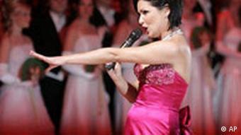 Anna Netrebko at the Vienna Opera Ball