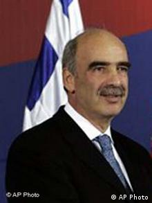 Verteidigungsminister in Griechenland Evangelos Meimarakis