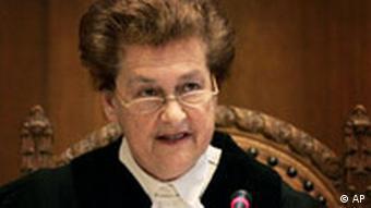 Niederlande UN-Gerichtshof Massaker von Srebrenica war Völkermord Richterin