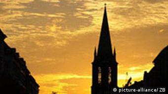 Deutschland Kirche Gethsemanekirche in Berlin (picture-alliance/ ZB)