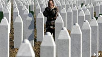 Bosinen Friedhof für Völkermord Oper aus Srebrenica
