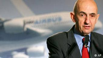 Picture of Airbus head Louis Gallois