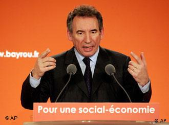 Centrist French presidential candidate Bayrou has taken a surprise leap in the polls