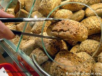 Self-service bread