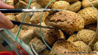 Deutschland Lebensmittel Bäckerei Brot Brötschen