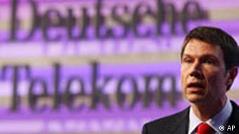 Telekom Bilanz-Pressekonferenz