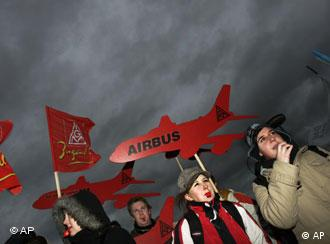 IG Metall has also been at the forefront of protests over job cuts at Airbus