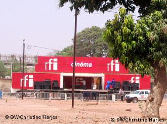 Sede do FESPACO, maior festival de cinema africano, que acontece em Uagadugu