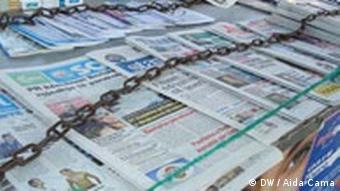 Albanische Zeitungen