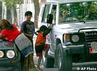 Ромските деца просят ежедневно