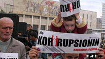 Korruption in Albanien