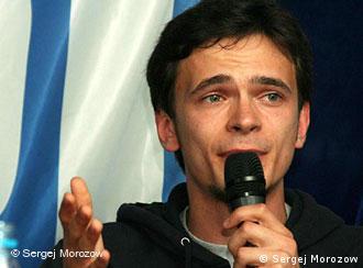 Бывший лидер молодежного крыла партии ''Яблоко'' Илья Яшин