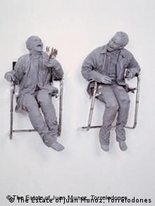 Juan Muñoz: One Laughing At The Other, 2000 (Quelle: The Estate of Juan Munoz, Torrelodones)