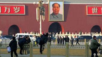 China Volkskongress in Peking Mao