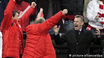 Henke (lijevo) s Hitzfeldom (desno)