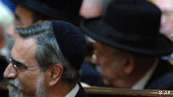 Juden in Londoner Synagoge