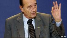 EU Gipfel zu Energie und Klima Jacques Chirac Pressekonferenz