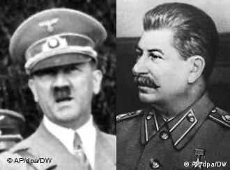 Гитлер и Сталин (фотомонтаж)