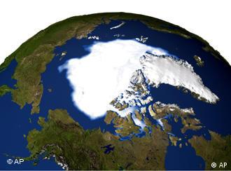 Ice flows at the North Pole