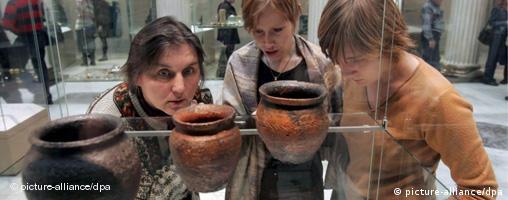 Merowinger Ausstellung in Moskau eröffnet