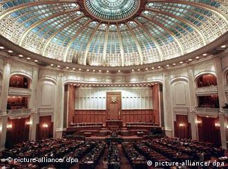 Palatul Parlamentului - scena perindărilor politice