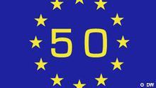 Symbolbild 50 Jahre EU