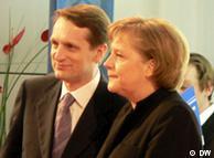 Сергей Нарышкин и Ангела Меркель