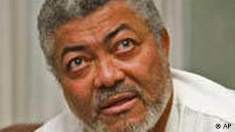 Ghanas ehemaliger Präsident Jerry Rawlings (Foto: AP)