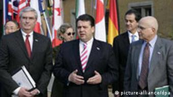 Gruppenfoto: Umweltministertreffen der G8 in Potsdam