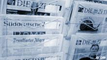 Presseschau Deutsche Zeitungen Symbolbild
