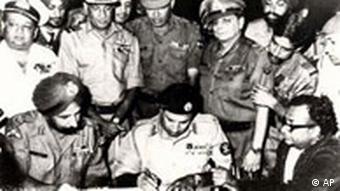 Bangladesch völkerrechtlich unabhängig von Pakistan
