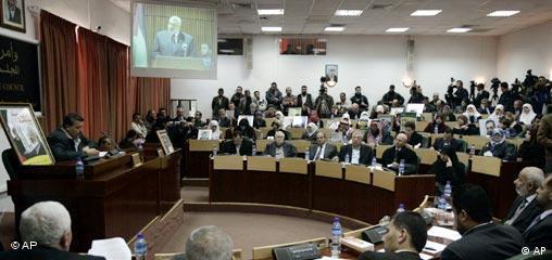 Palästinenser Parlament Gaza neue Regierung