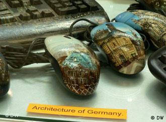 Специально для выставки CeBIT фирма Russian Mouse приготовила серию Архитектура Германии