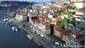 Riverfront in Porto, Portugal