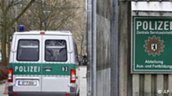 Antisemitische Äußerungen in der Polizei Aussenansicht des Eingangsbereiches der Abteilung Aus-und Fortbildung der Polizei in Berlin