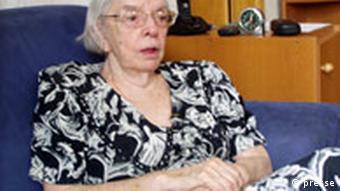 Ljudmila Aleksejewa, Leiterin der Moskauer Helsinki-Gruppe, Foto: Sergej Morozow