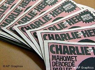 The special edition of Charlie Hebdo which carried the cartoons sold 400,000 copies