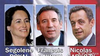 Frankreich Präsidentschaftswahlen Symbolbild