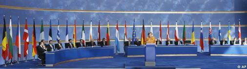Evropski lideri na okupu - EU Samit u Berlinu (2007.)