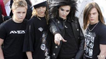 Memebrs of the German band Tokio Hotel