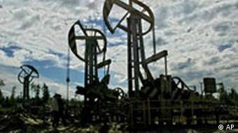 Yukos Ölförderung in Sibirien