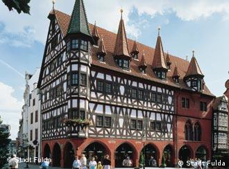 Altes Rathaus, a antiga prefeitura em estilo enxaimel