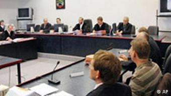 Das Landgericht in Dessau (Foto: AP)