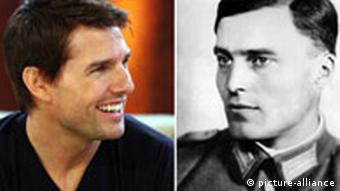 Portraits of Cruise and Stauffenberg